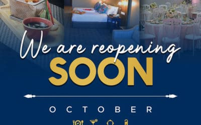 We are Reopening on 12 October 2020!