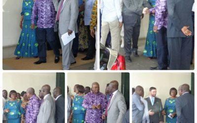 FRH General Manager welcomes President John Dramani Mahama